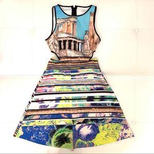 CLOVER CANYON Open Side Dress Sz M